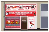 Qualitätsreinigung mit Wäscherei