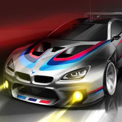 BMW Motorsport M6 GT3 2016