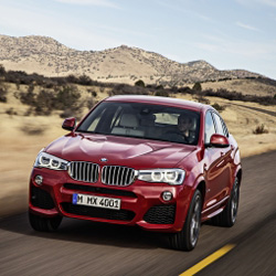 Новый кроссовер BMW X4 2014