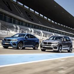 Новые BMW X5 M и BMW X6 M