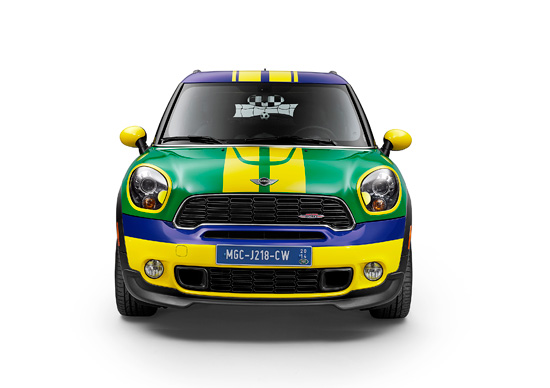 Новый MINI Paceman GoalCooper 2014