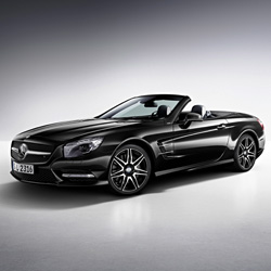 Новый Mercedes-Benz SL 400