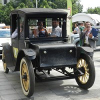 Автопробег в Москве Электро Ретроавтомобили