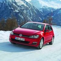 Golf 7 седьмого поколения Volkswagen в России
