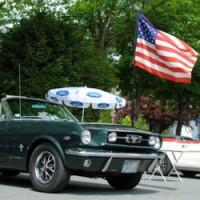 Ford Mustang - Выставка легендарной машины