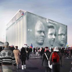 Олимпийский павильон компании МегаФон Сочи 2014