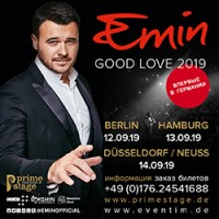 Новый сольный тур EMIN'A GOOD LOVE 2019 в Германии