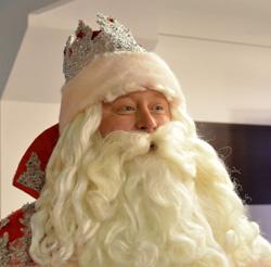 Российский Дед Мороз в канун Дня рождения провел пресс-конференцию