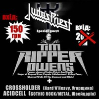 Концерт Tim Ripper Owens в Киеве 31 октября