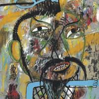 Олег Ланг в галерее Pop/off/art