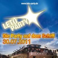 Leto Party Вечеринка в Дюссельлорфе на корабле
