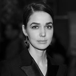 Алена Ахмадуллина на Неделе моды в Берлине 2014