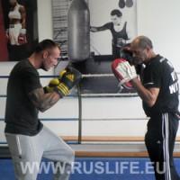 Чемпион мира Миккель Кесслер Открытая тренировка Фото