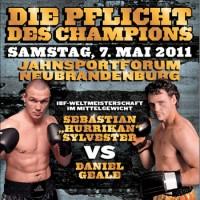Сильвестр, Гуткнехт и Граф выйдут на ринг 7 мая
