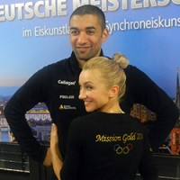 Чемпионат Германии по фигурному катанию в Берлине