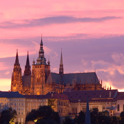Свадьба в Праге, знаменитом городе поцелуев