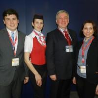 Уральские авиалинии на выставке в Берлине 2013