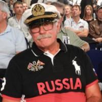 Никита Михалков на бою Поветкин - Чагаев  Фото