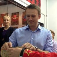 Навальный посетил галерею pop/off/art в Москве