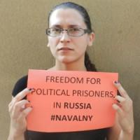 В Берлине акция в поддержку Навального