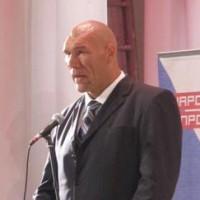 Николай Валуев Политика Выступление