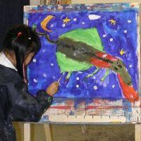 Kunst-Atelier-Fliege